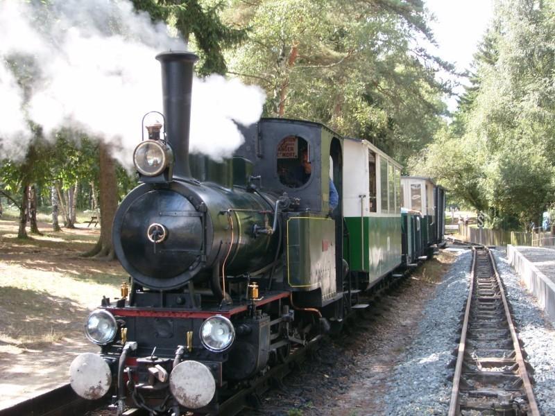 Train à vapeur au Lac de Rillé